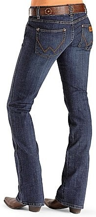Love the western jeans!