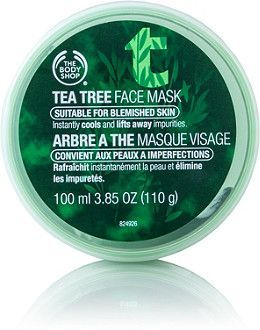 Use The Body Shop Tea Tree Face Mask to leave skin feeling deeply cleansed and refreshed with an instantly cooling mask that helps remove impurities and absorb excess oil while soothing and calming blemish-prone skin. Best for oily/blemished skin..