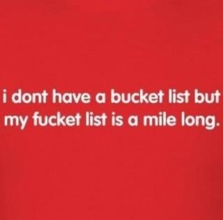 Lol: Fucket Lists, Buckets Lists, Quotes, Giggles, Truths, So True, Funny Stuff, Humor, True Stories