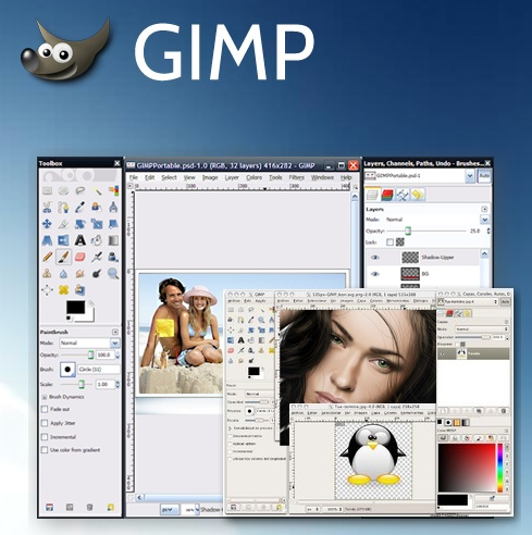 GIMP! Download it 100% FREE, now!
