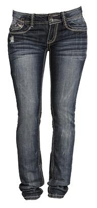 Double Stitch Skinny Jeans - $39