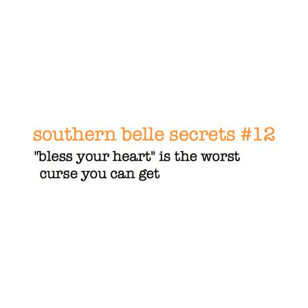 Southern Belle Secrets found on Polyvore