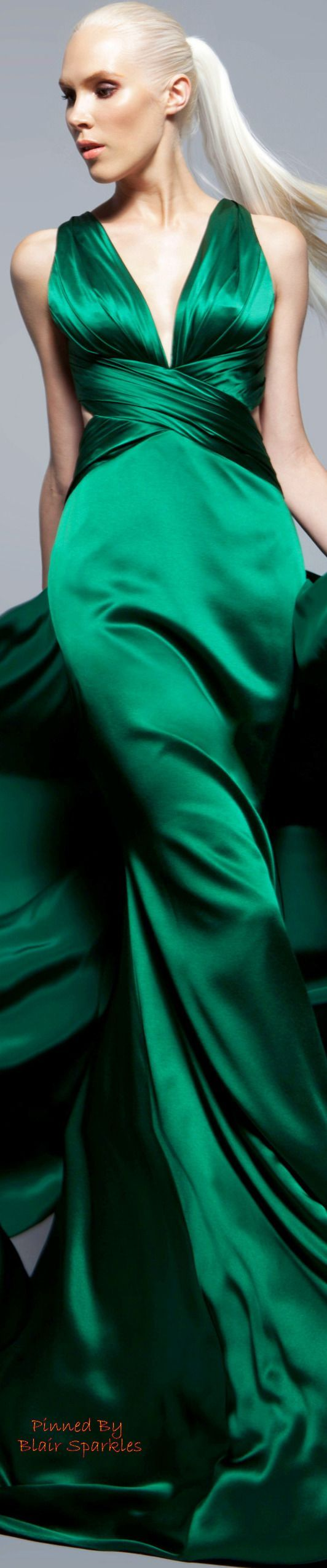 Green Evening Gown