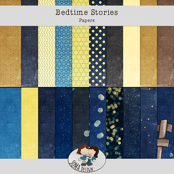 Oscraps.com :: Shop by Category :: All New :: SoMa Design: Bedtime Stories - Kit