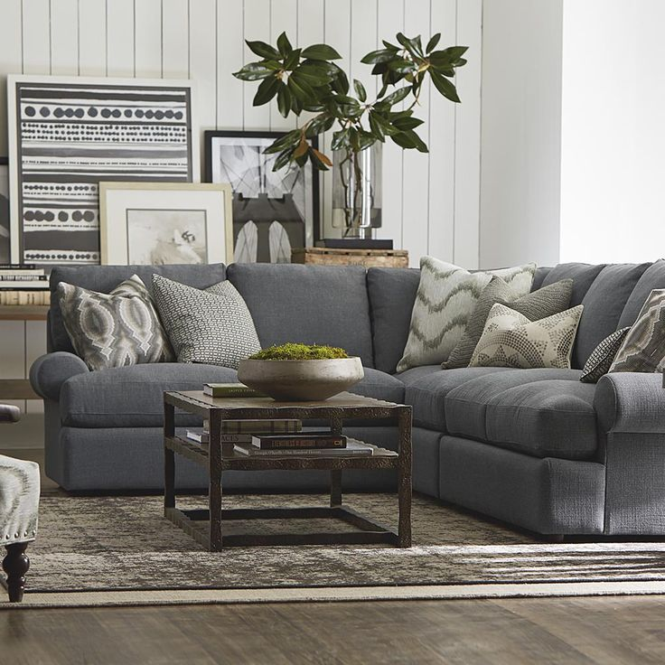 Large L-Shaped Sectional basset furniture