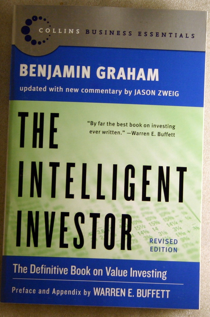 The Intelligent Investor by Benjamin Graham. THE authority on investment principles. www.proassetbuilders.com