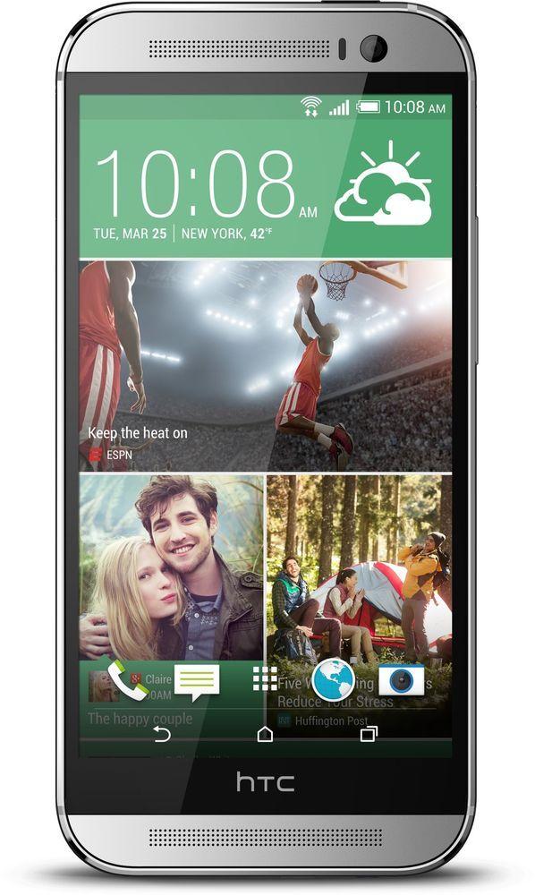 Je Vend Mon Portable HTC Neuf sur eBay - HTC One M8 (4 G) - (Latest Model 2014) - White - HTC One M8 (4 G) Argenté Blanc