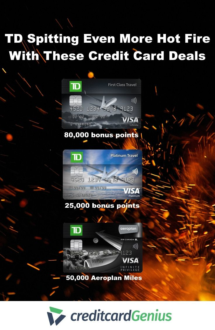 New Td Credit Card Offers Earn Plenty Of Aeroplan Miles Flexible