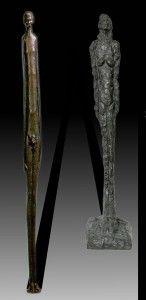 """""""L'Ombra della sera"""" e """"Femme debout"""" si confrontano in una mostra a Palazzo Magnani di Reggio Emilia fino a domenica 13 ottobre, per poi trasferirsi al Museo Etrusco di Volterra dal 26 ottobre. """"L'Ombra"""" è scultura etrusca del III secolo a.C..Continua..."""