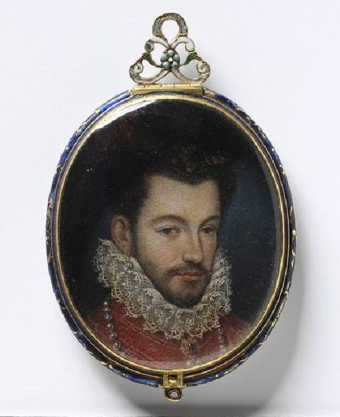 Henry III of France  By an unknown artist Oil on copper, 1575