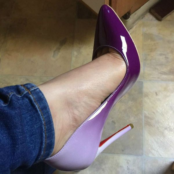 Pointed Toe Party Stiletto Pumps