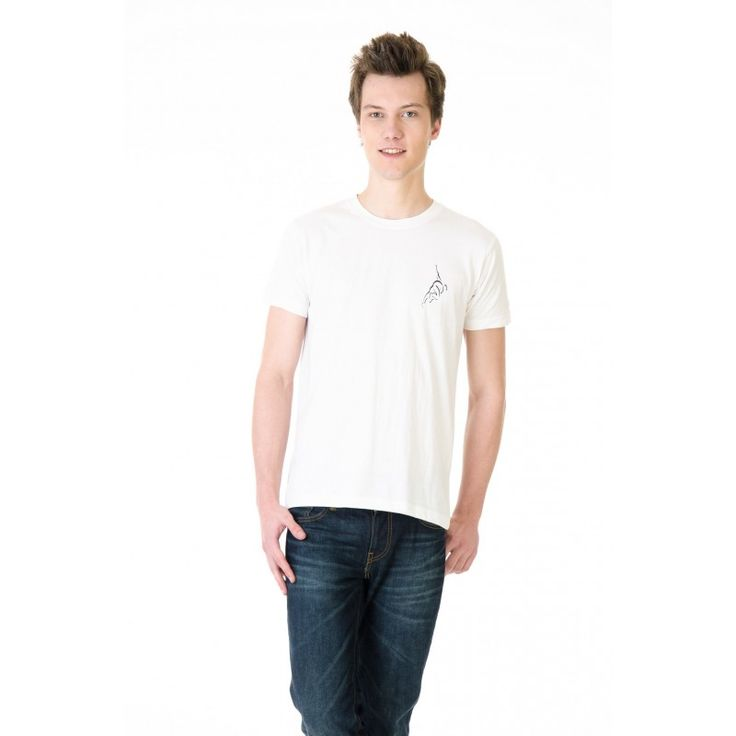 Posh 7 White Small Bowler Cricket T Shirt http://goo.gl/sWtmh4