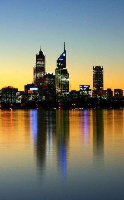 Perth Australia - looking from South Perth towards our apartment  How beautiful, don't you just wish you could be there now? If you're in Perth, and in need of some online marketing help, come talk to us today! http://www.exaperth.com.au/