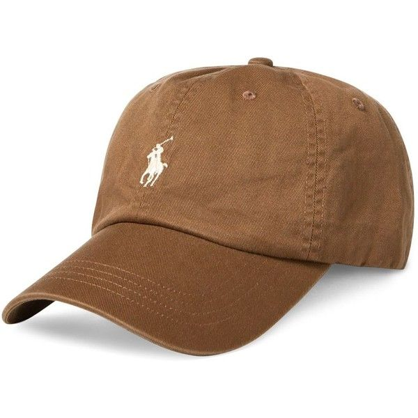 1581b370 Polo Ralph Lauren Cotton Chino Sports Cap ($40) ❤ liked on Polyvore ...
