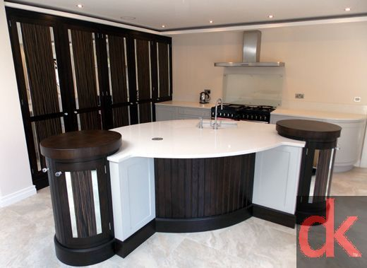Contemporary Painted Kitchen
