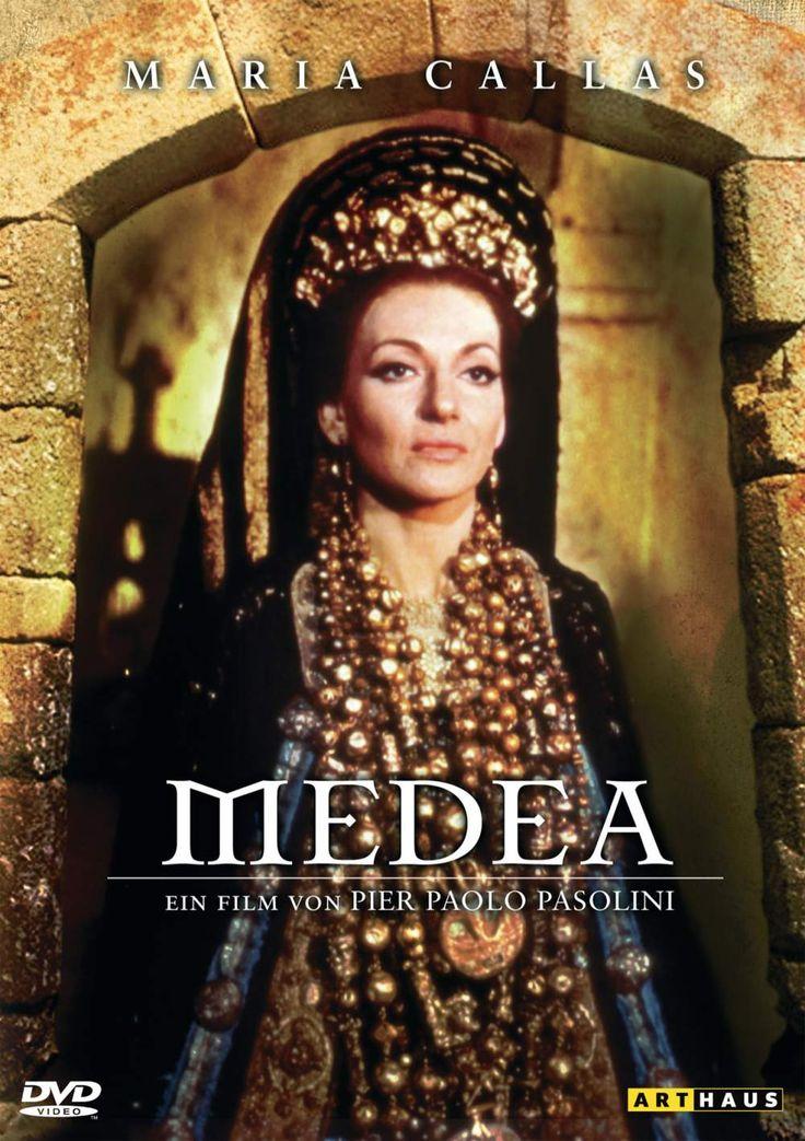 Maria Callas in the film  'Medea'