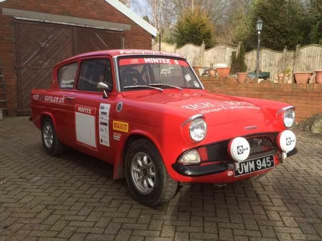 Historic Ford Anglia Rally Car & 520 best Rally Car images on Pinterest   Rally car Car and Race cars markmcfarlin.com