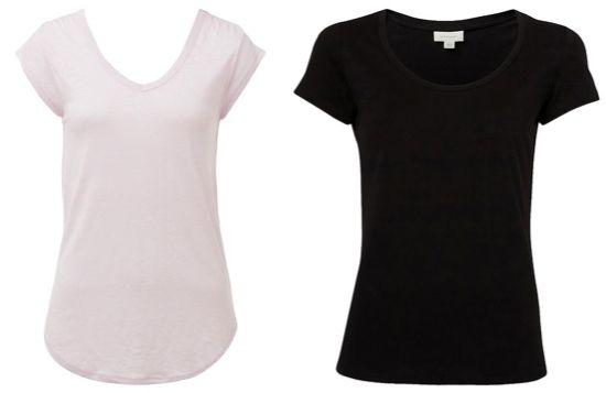 Wardrobe essentials: tees