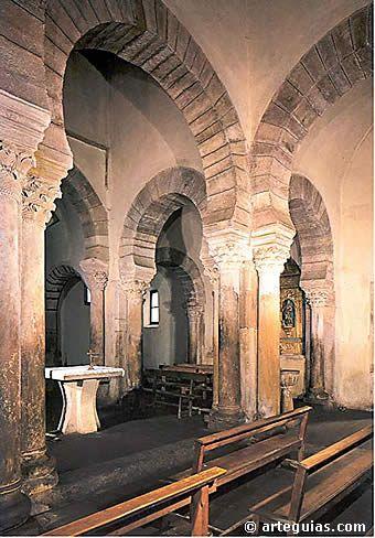 Santa María de Lebeña. Joya del la arquitectura mozárabe