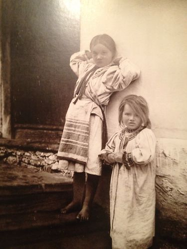 "Pavel Sochan 9x13 Black & White Photograph Slovakia ""Children From Horehronie"""