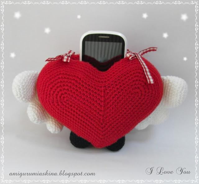 Sevgiler gününe özel telefon standı- phone stand