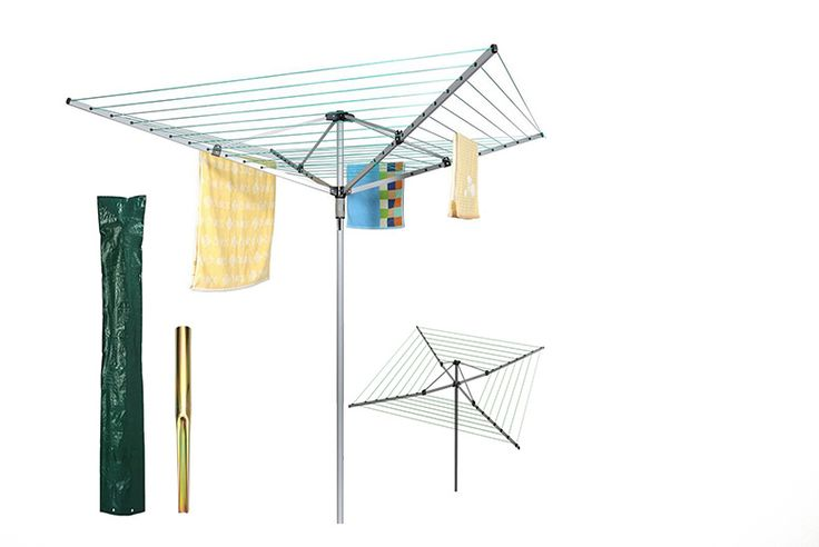 Buy Heavy Duty 50m Rotary Clothes Airer with Waterproof Cover UK deal for just £19.99 £19.99 instead of £53 (from Groundlevel) for a rotary outdoor washing line, £22.99 to include a cover - save up to 62% BUY NOW for just £19.99