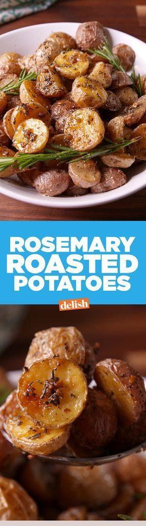 Rosemary Roasted Potatoes  - Delish.com