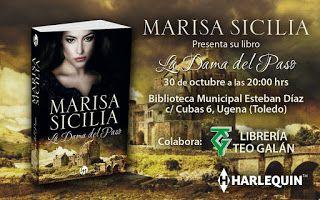 Cielos de papel: Presentación de La Dama del Paso de Marisa Sicilia...