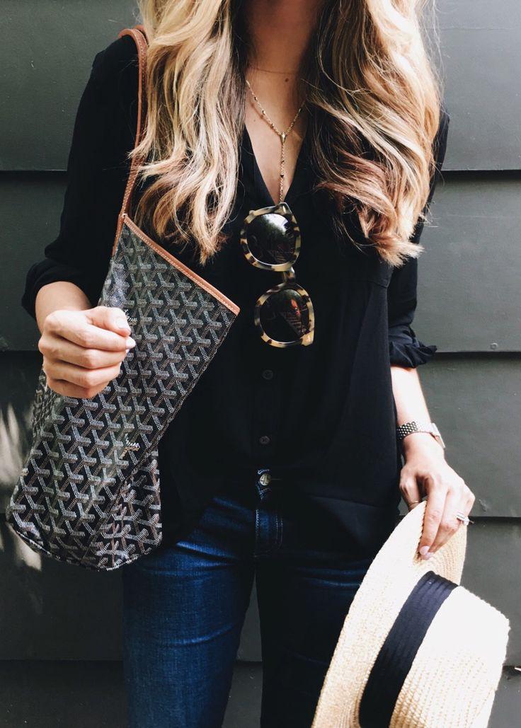 best 25  black blouse outfit ideas on pinterest