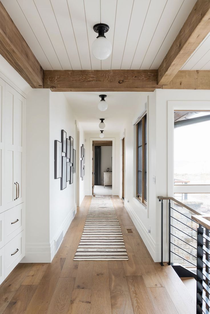 36 Great Exposed Beam Ceiling Lighting Ideas In 2020 House Styles Rustic Home Interiors Ranch House