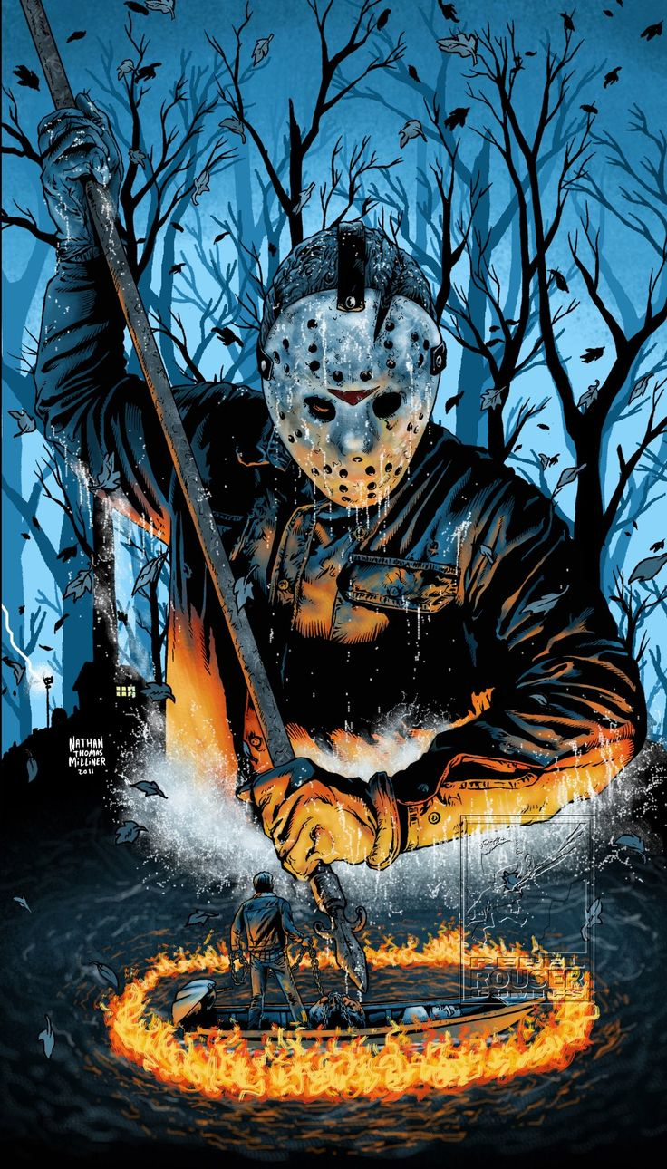 Friday The 13th Part 6 | Artsy in 2019 | Jason voorhees ...