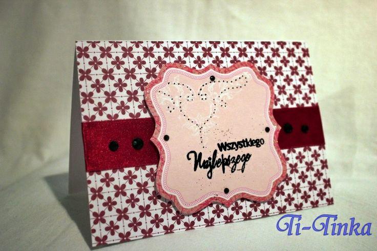hand made card by Ti-Tinka