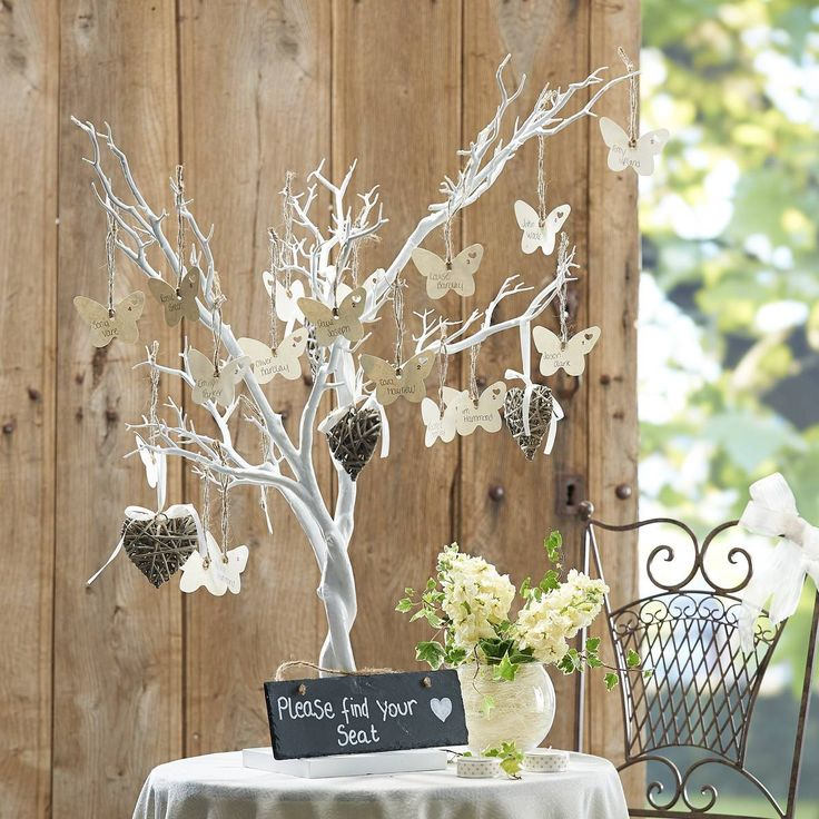 Decorative White Twig Tree 76 Cm | Hobbycraft