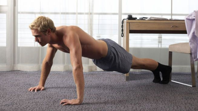 The 20-Minute 'No Excuses' Navy SEAL Bodyweight Workout