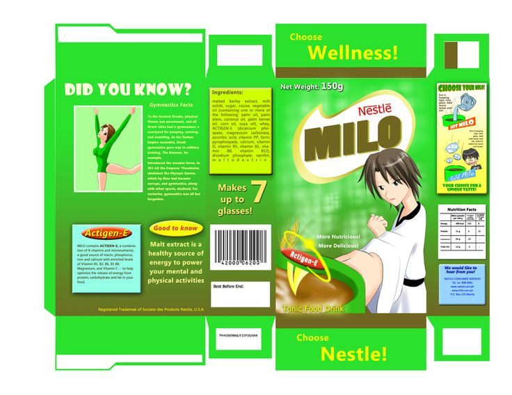 Milo Package Design By Vagrantslasher17 Designs Interfaces