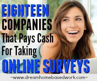 18 Survey Companies That Pays Cash For Taking Online Surveys
