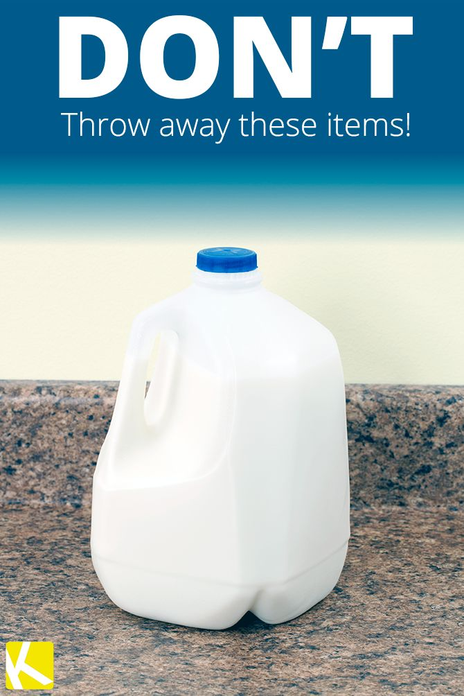 10 Items You're Throwing Away That You Should Be Reusing!