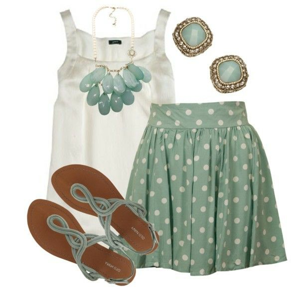 Hurry up summer! I need this outfit!