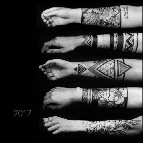 Forearm Band Tattoos | Best Tattoo Ideas Gallery