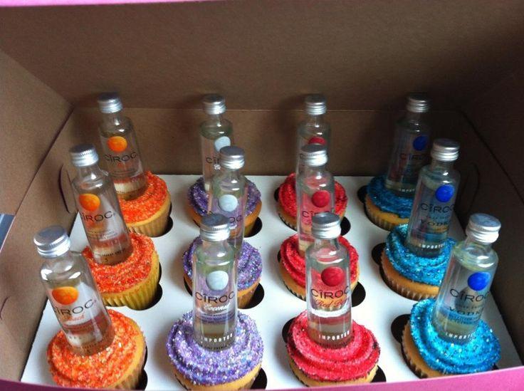 Ciroc Cupcakes I adore the glitter