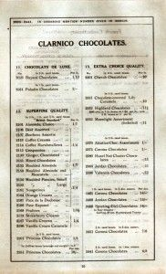 The Trebor Story 1913 Clarnico Price List2