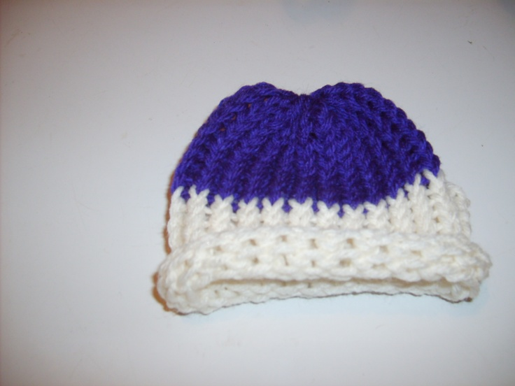 Loom Knit Baby Hat Tutorial : Best images about loom knitting on pinterest