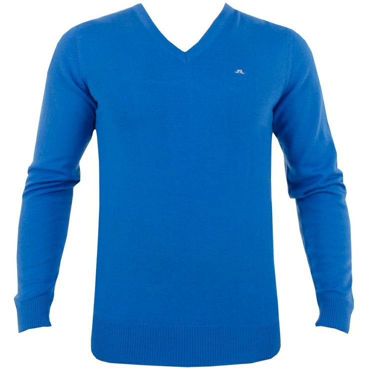 J Lindeberg Lymann True Merino Blue #golf #fashion #trendygolf #jlindeberg