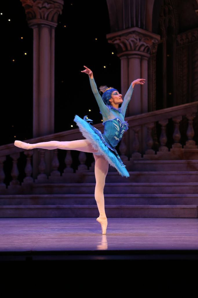 Laura Hidalgo in Queensland Ballet's The Sleeping Beauty