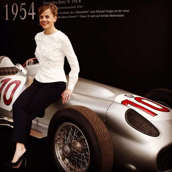 Susie Wolf at Goodwood Festival of Speed June 2014