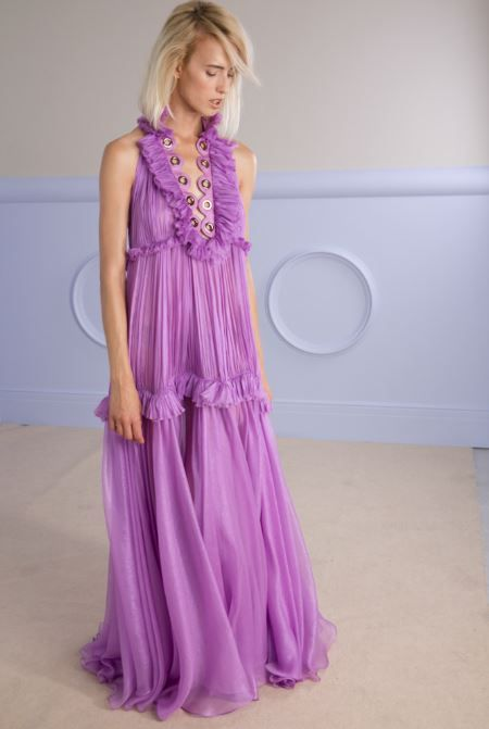 TEA floor-length dress