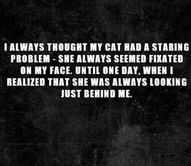 Heard this before...not any less creepy....