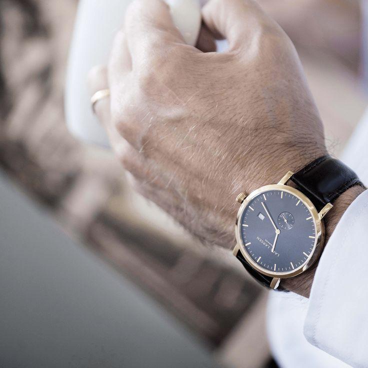 LW 31 - Guldbelagt #Larsenwatches #watch #danish #designLW 31 - Guldbelagt