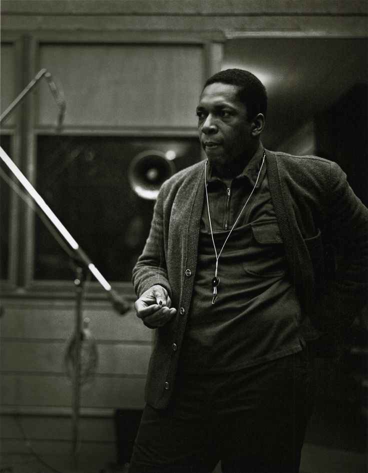 John Coltrane at the recording sessions for A Love Supreme. In addition to the images already published, photographer Chuck Stewart recently...
