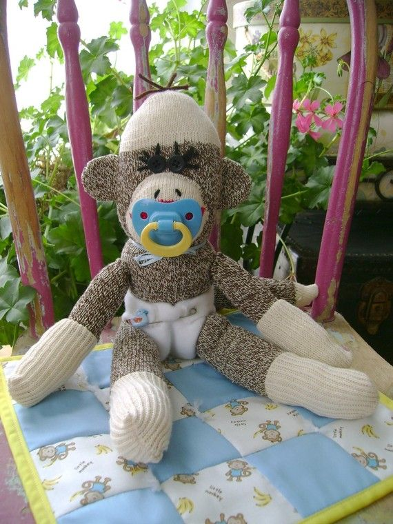 Hey, I found this really awesome Etsy listing at https://www.etsy.com/listing/506620564/baby-boy-sock-monkey